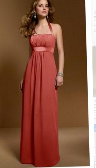 Orange Bridesmaid Dresses